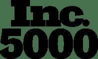Inc. 5000 Primary Black Stacked Logo
