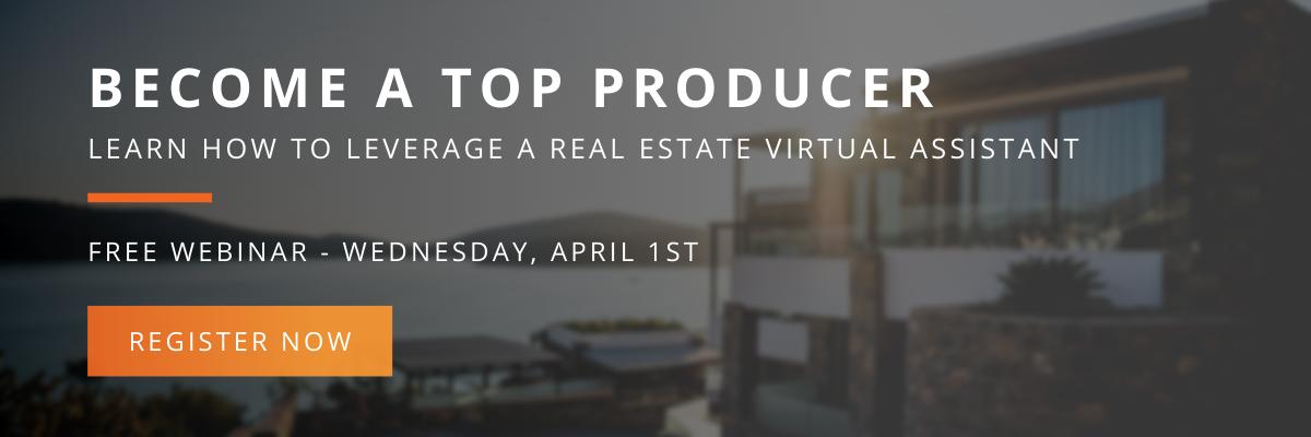 Real estate webinar - become a top producer