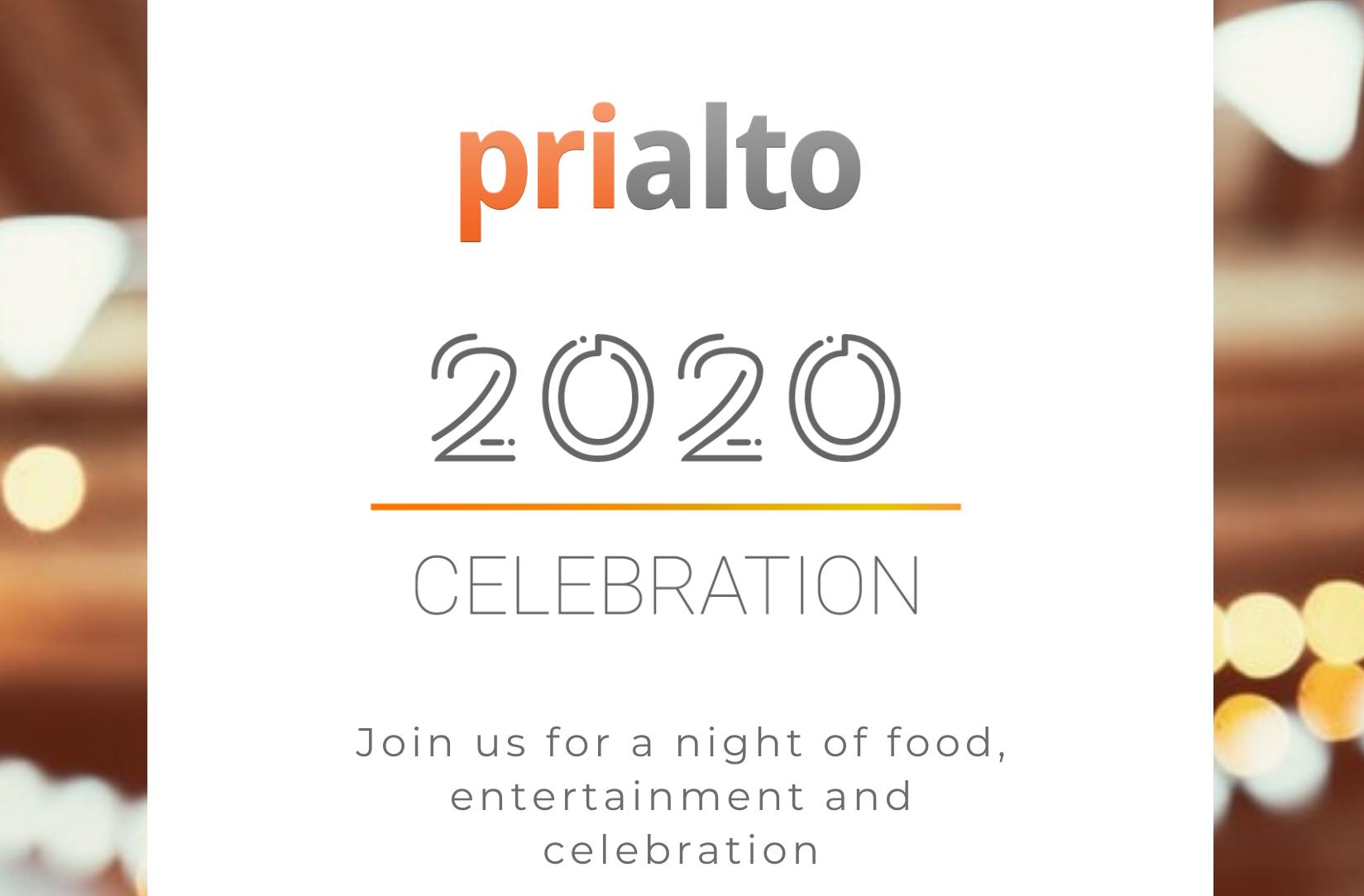 Virtual celebration invitation.