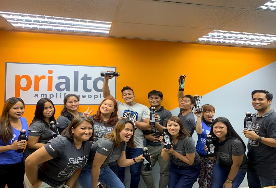 Photo of our Manila team